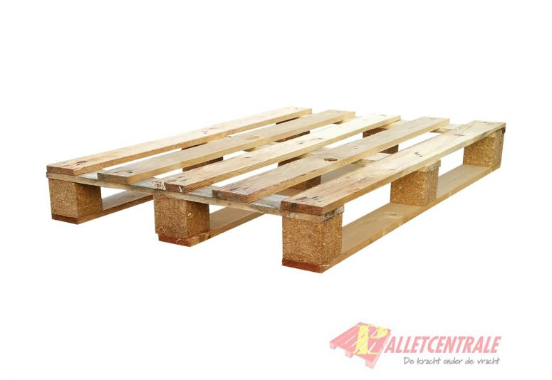 Block pallet open medium weight 80X120cm, new
