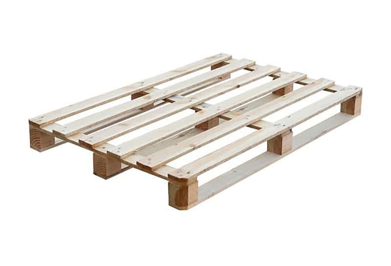 Block pallet open light single use (6/7 shelf) 80x120cm, used
