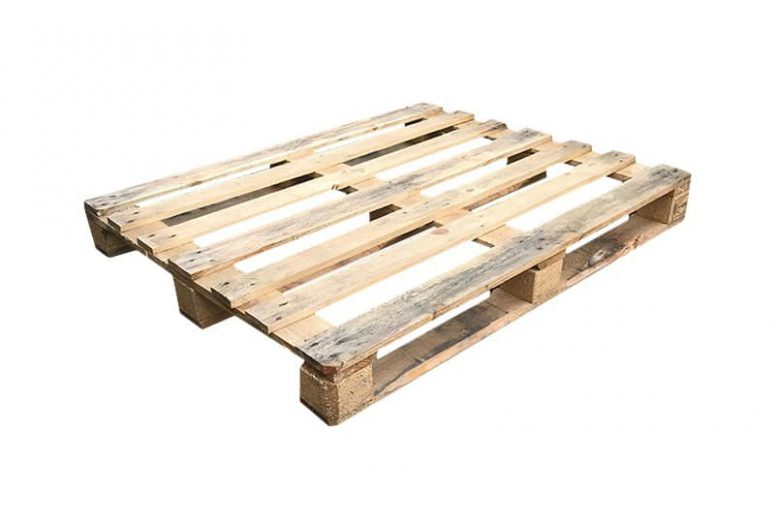 Block Pallet Open Medium Weight 100x120cm Used