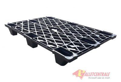 Kunststof pallet 80 x 120cm stapelbaar gebruikt bovenzijde