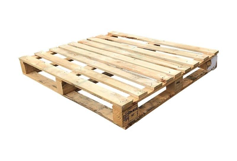 Block pallet perimeter base medium weight 100x120cm, used