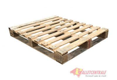 Omlopende blokpallet zwaar 100x120cm, gebruikt BZ