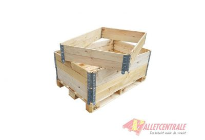 Palletranden blokpallets of europallets nieuw