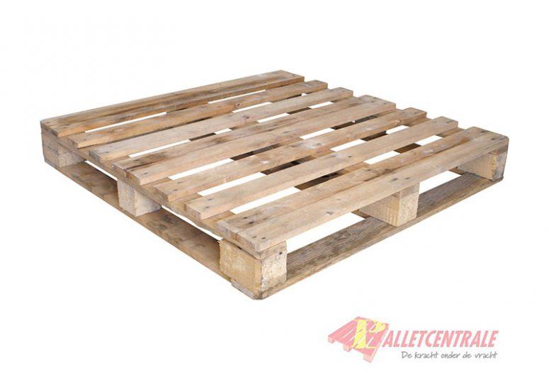 Blokpallet omlopend zwaar 120cm x 120cm