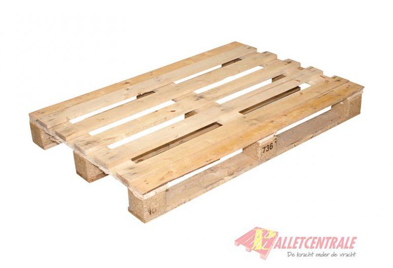 Blokpallet open zwaar 80cm x 120cm