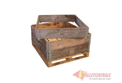 Pallet collar 80X120X20cm, reconditioned