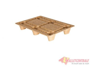 Wood fiber pallet 60X80cm, new