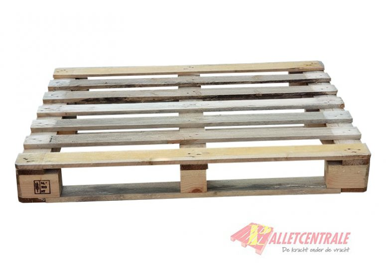 Block pallet circulating heavy weight HT 100X120cm, new