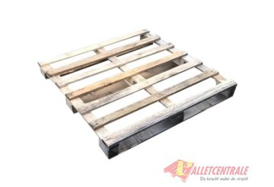 Blockpallet 115x115cm, reconditioned