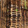 Blockpallet 115x115cm, reconditioned