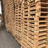 Kruisdek blokpallet halfzwaar 76X130/120cm, gebruikt