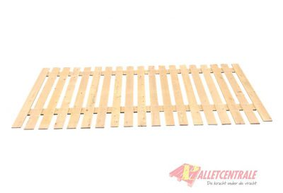 Stellingvlonders met afmeting (110cm x 266cm) of (115cm x 275cm)