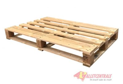 Blockpallet crossdeck medium weight 76x120/130cm, reconditioned