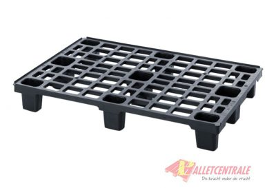 Plastic pallet nestable 80X120cm, new