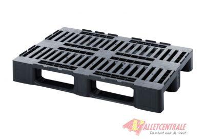 Plastic pallet H1 80X120cm, new