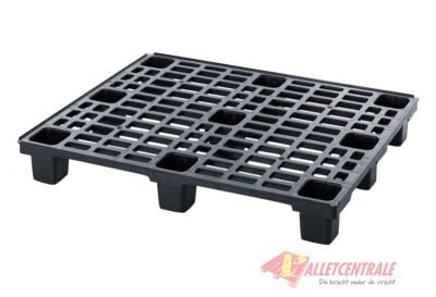 Plastic pallet nestable 100X120cm, new