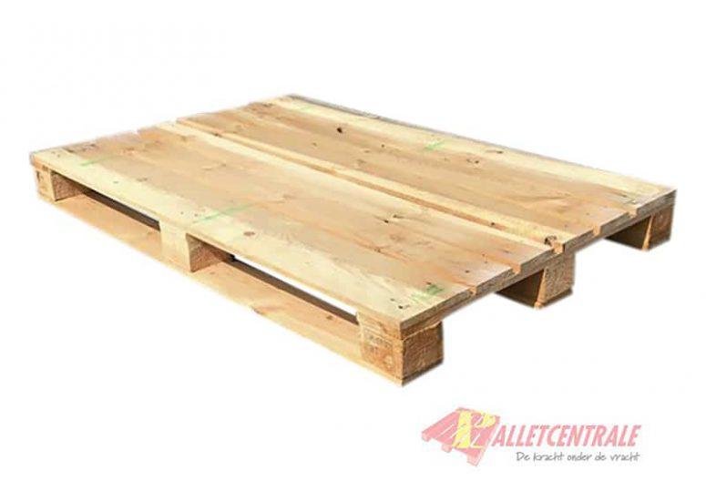 Blockpallet open medium weight 86X134/137cm, reconditioned