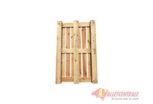 Open blokpallet 86x137-134cm, gebruikt