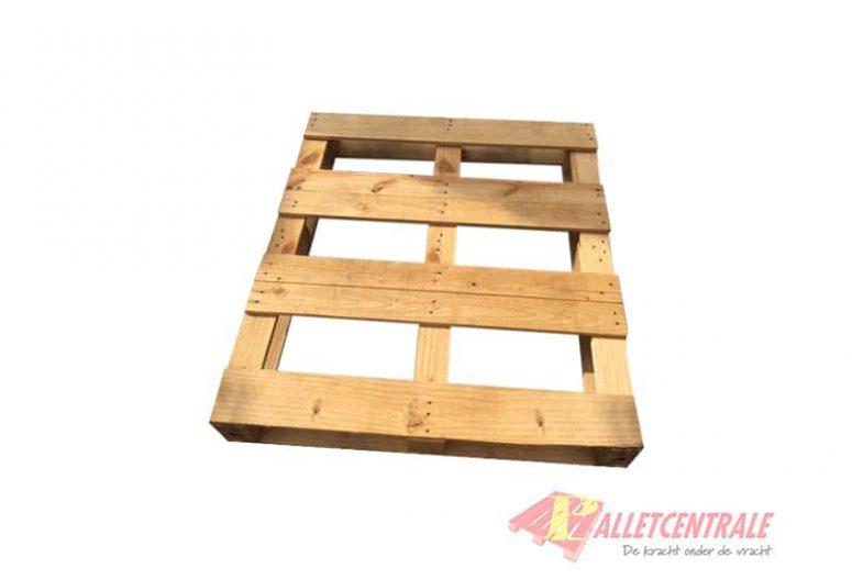 103x120cm open en omlopende blokpallet, gebruikt