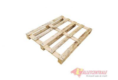 Blokpallet 100 x 120cm open gebruikt bovenzijde