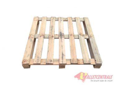 Blokpallet 115 x 115cm open eenheid gebruikt bovenzijde