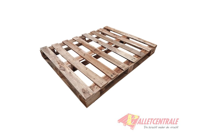 Block Pallet Perimeter Base Medium Weight 95x123cm Used