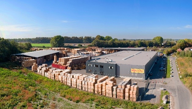 Palletcentrale Middenmeer