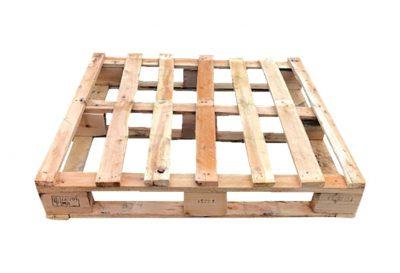 Blokpallet omlopend halfzwaar 111x114cm